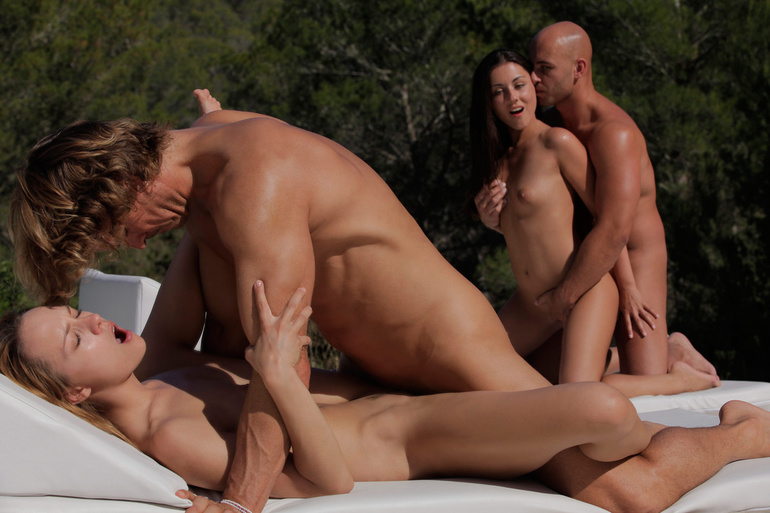Three couples fucking