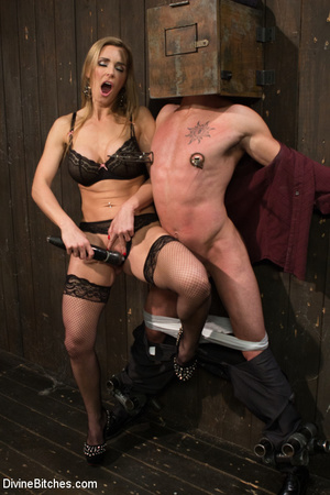 Bondage Sex Sporty young man is gets new <b>sex bondage</b> and hot blonde - <b>xxx</b> <b></b>