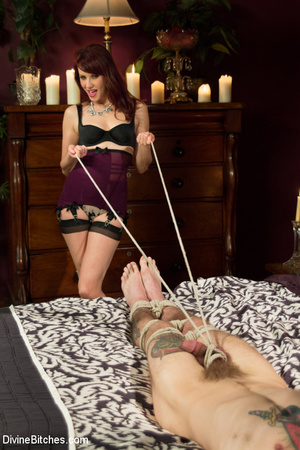 Hot and fetish lady enjoys playing hard  - XXX Dessert - Picture 2