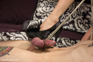 Hot and fetish lady enjoys playing hard  - XXX Dessert - Picture 4