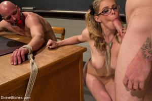 Hot cute young teacher enjoys dominating - XXX Dessert - Picture 15