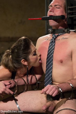 Fatale young lady loved dominating helpl - XXX Dessert - Picture 11