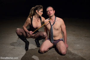 Fatale young lady loved dominating helpl - XXX Dessert - Picture 14