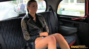 Gorgeous white chick goes for a free ride with a free facial cum - XXXonXXX - Pic 1