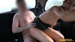 Gorgeous white chick goes for a free ride with a free facial cum - XXXonXXX - Pic 18