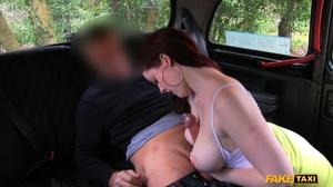 Long john loves sliding in her humungous boobies then wanks her cunt - XXXonXXX - Pic 7