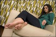 hot alluring brunette delights