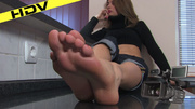 sexy demure bitch rubs