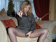 Hot babes in stocking can't control - Sexy Women in Lingerie - Picture 1