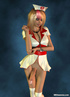 Sexy blond 3D shemale as a nurse