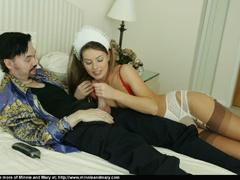 Brunnette girl enjoys girlfriend's - Sexy Women in Lingerie - Picture 8