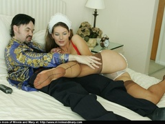 Brunnette girl enjoys girlfriend's - Sexy Women in Lingerie - Picture 10