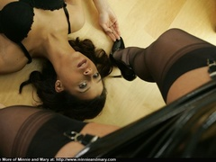 Young babies get naughty in office - Sexy Women in Lingerie - Picture 9