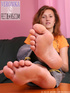 Bow down to these tempting mesmerizing soles of joy