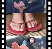 Deliciously suckling soles and toes from…