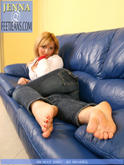 lovable mouthwatering toes and