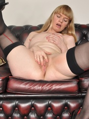 Nasty bitch in black stockings with - Sexy Women in Lingerie - Picture 9