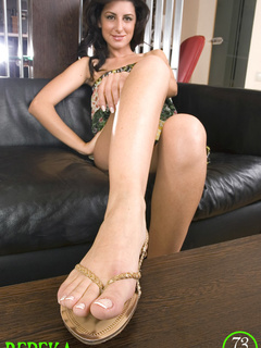 Here you have it: socked feet, - Sexy Women in Lingerie - Picture 4