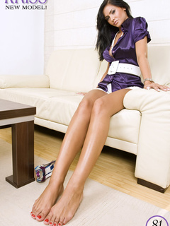 Here you have it: socked feet, - Sexy Women in Lingerie - Picture 6