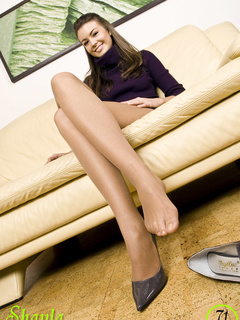 Here you have it: socked feet, - Sexy Women in Lingerie - Picture 7