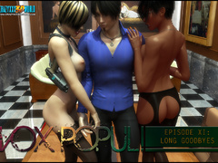 Having an enjoyable tri-color threesome hardcore - Picture 1