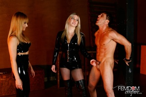 Guy with hands tied at back gets punishe - XXX Dessert - Picture 3