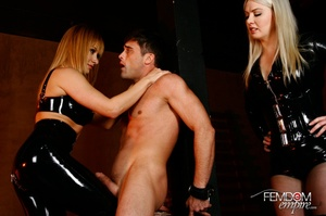 Guy with hands tied at back gets punishe - XXX Dessert - Picture 11