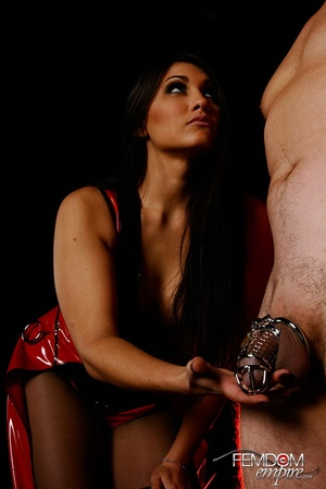 Hot bad girl punish guy with hands tied  - XXX Dessert - Picture 1