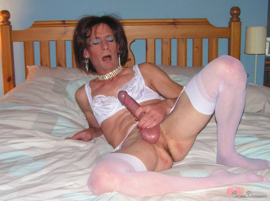 Mature Crossdresser Cock