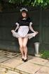 Male crossdresser dressed like innocent sweet girl…