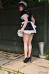 Male crossdresser dressed like innocent sweet girl…
