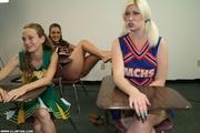 naughty cheerleader sucks and