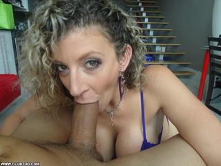 sexy matured lady happy
