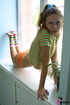Irristable chick goes crawling seducingly in her…