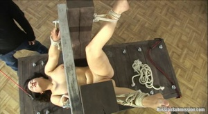 The pretty big assed bitch is given a delicious spanking on her on her butt and pussy - XXXonXXX - Pic 3