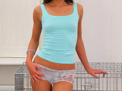 Perfect body teen Abby bondaged and gets - XXX Dessert - Picture 3