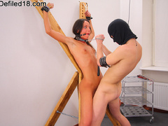 Tied up brunette Abby forced to - XXX Dessert - Picture 13