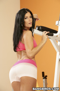 beautiful, milf, work out, workout