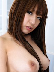 Brown hair sweet looking Asian with - Sexy Women in Lingerie - Picture 9