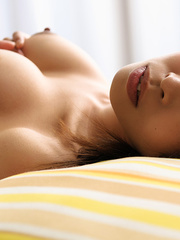 Hot seductive chick on bed shows - Sexy Women in Lingerie - Picture 14