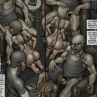 Pervert bald masters torturing and - BDSM Art Collection - Pic 2