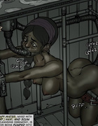 Poor slave girls bound and tortured badly in the…