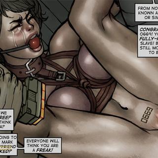 Gag-balled chick in shinju banged - BDSM Art Collection - Pic 4