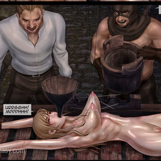 Black naked slaves torturing badly - BDSM Art Collection - Pic 4