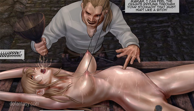Poor enslaved girls in boots tortured - BDSM Art Collection - Pic 1