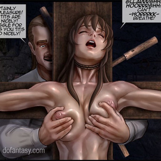 Kinky master punishing his victim with - BDSM Art Collection - Pic 1
