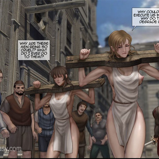 Poor enslaved girls in boots tortured - BDSM Art Collection - Pic 3