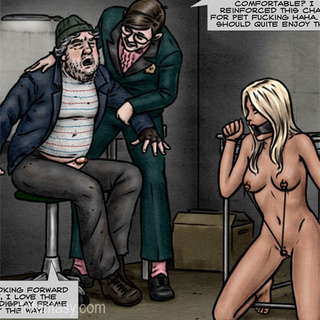 Geek in glasses and suit get horny when - BDSM Art Collection - Pic 1