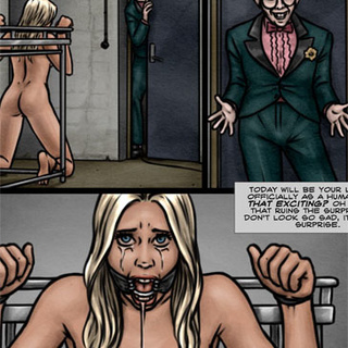 Rude nerd fucking blonde slave hard - BDSM Art Collection - Pic 4