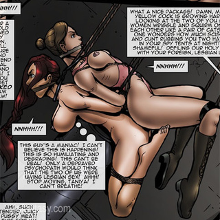 Sexy red War Reporter by SPINNER gets - BDSM Art Collection - Pic 1
